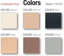 Combination floor / pavimento coordinato
