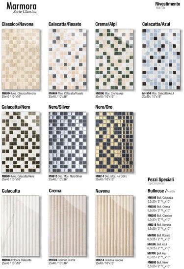 Mosaico 25x40 / Colonna