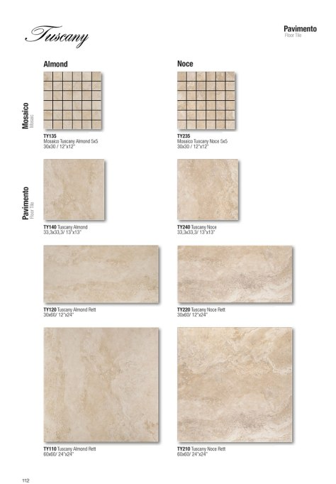 Floor-pavimento / Almond / Noce_