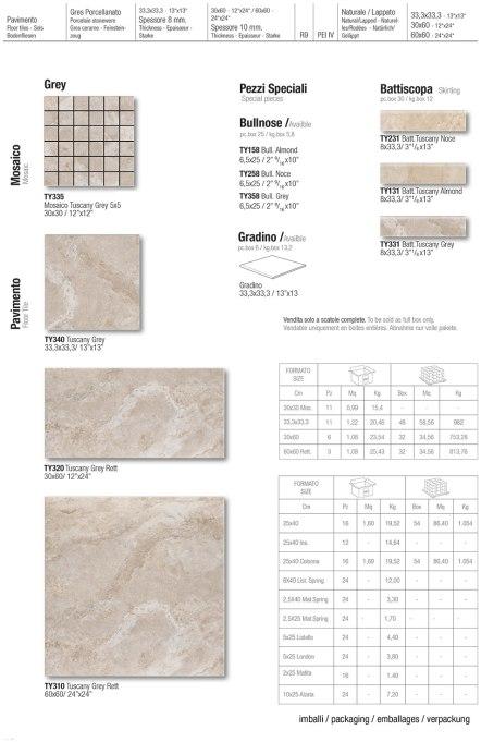 Floor-pavimento / Grey / Skirting