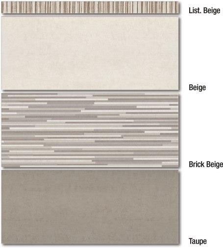 Taupe / Beige / Brick Beige